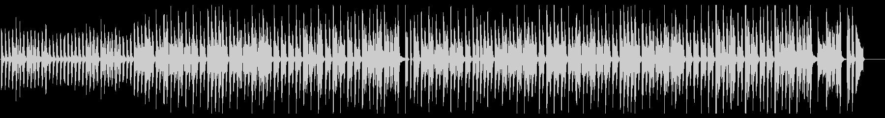 ピアノメイン/かわいい/シンプル/ポップの未再生の波形