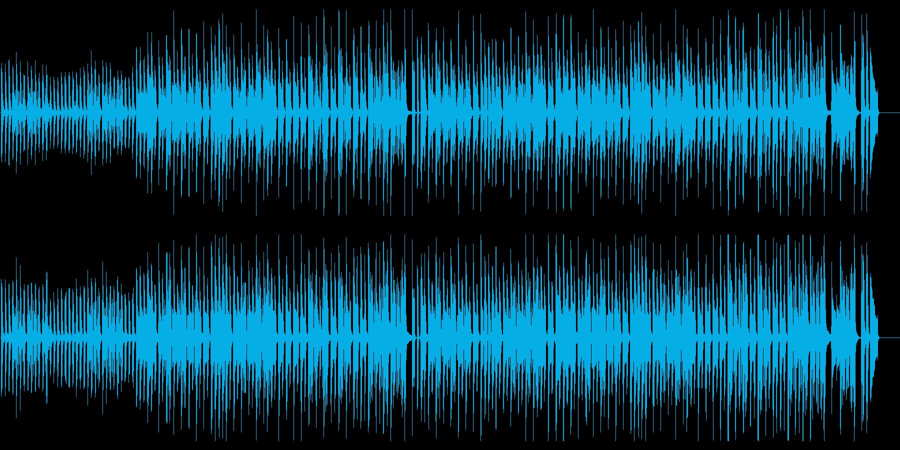ピアノメイン/かわいい/シンプル/ポップの再生済みの波形