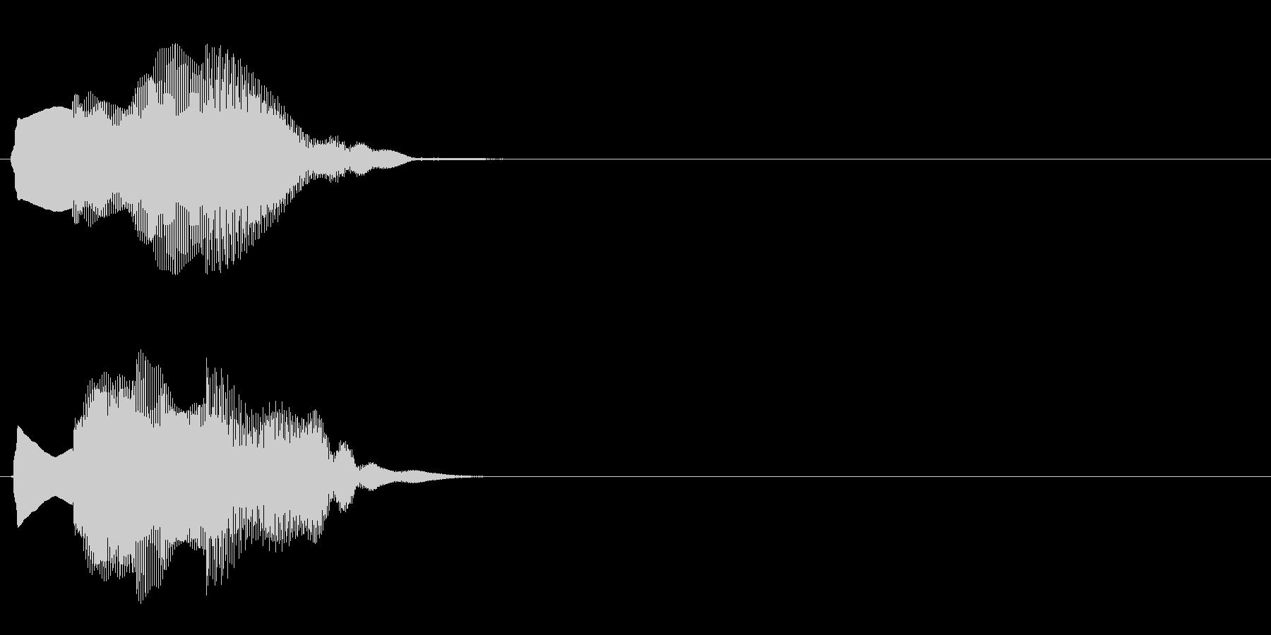 汎用 エレピ系08(大) アイテム発見の未再生の波形