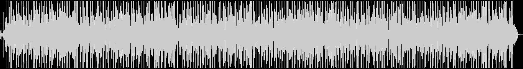 ほのぼのボサノバ風ポップスの未再生の波形