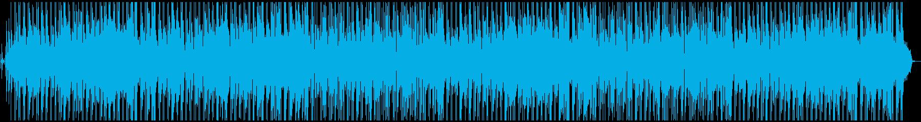 ほのぼのボサノバ風ポップスの再生済みの波形