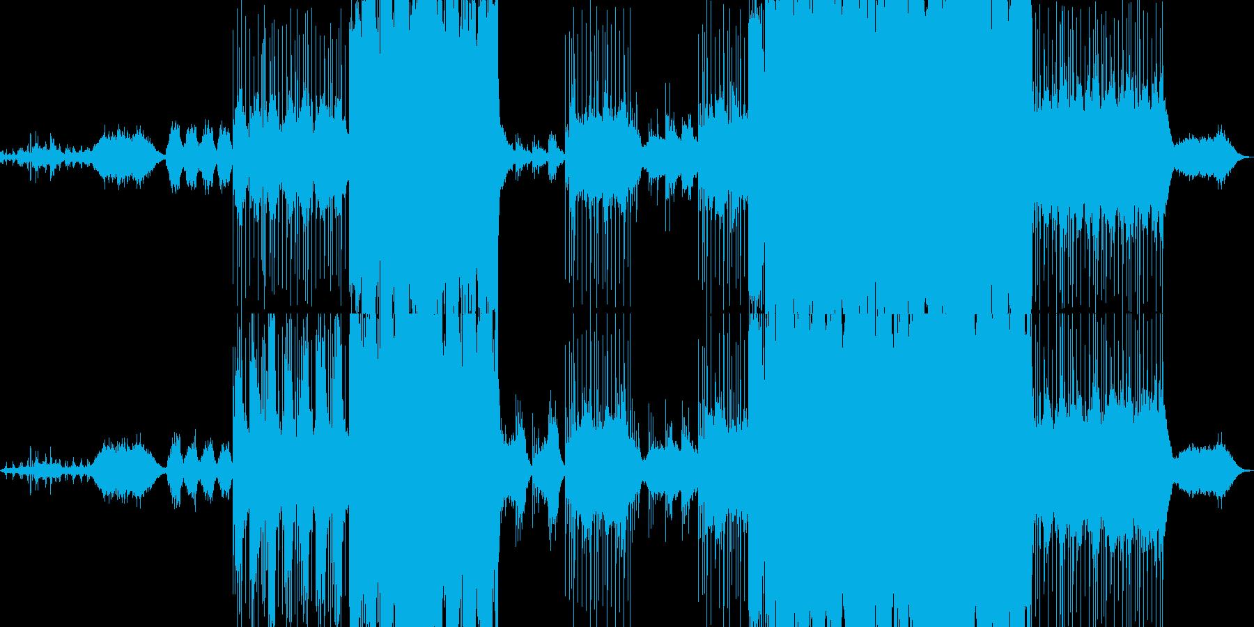 神秘的なバックに切ないピアノメロディの再生済みの波形