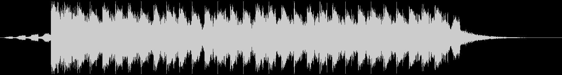 夏らしい洋楽風トロピカルハウスShortの未再生の波形