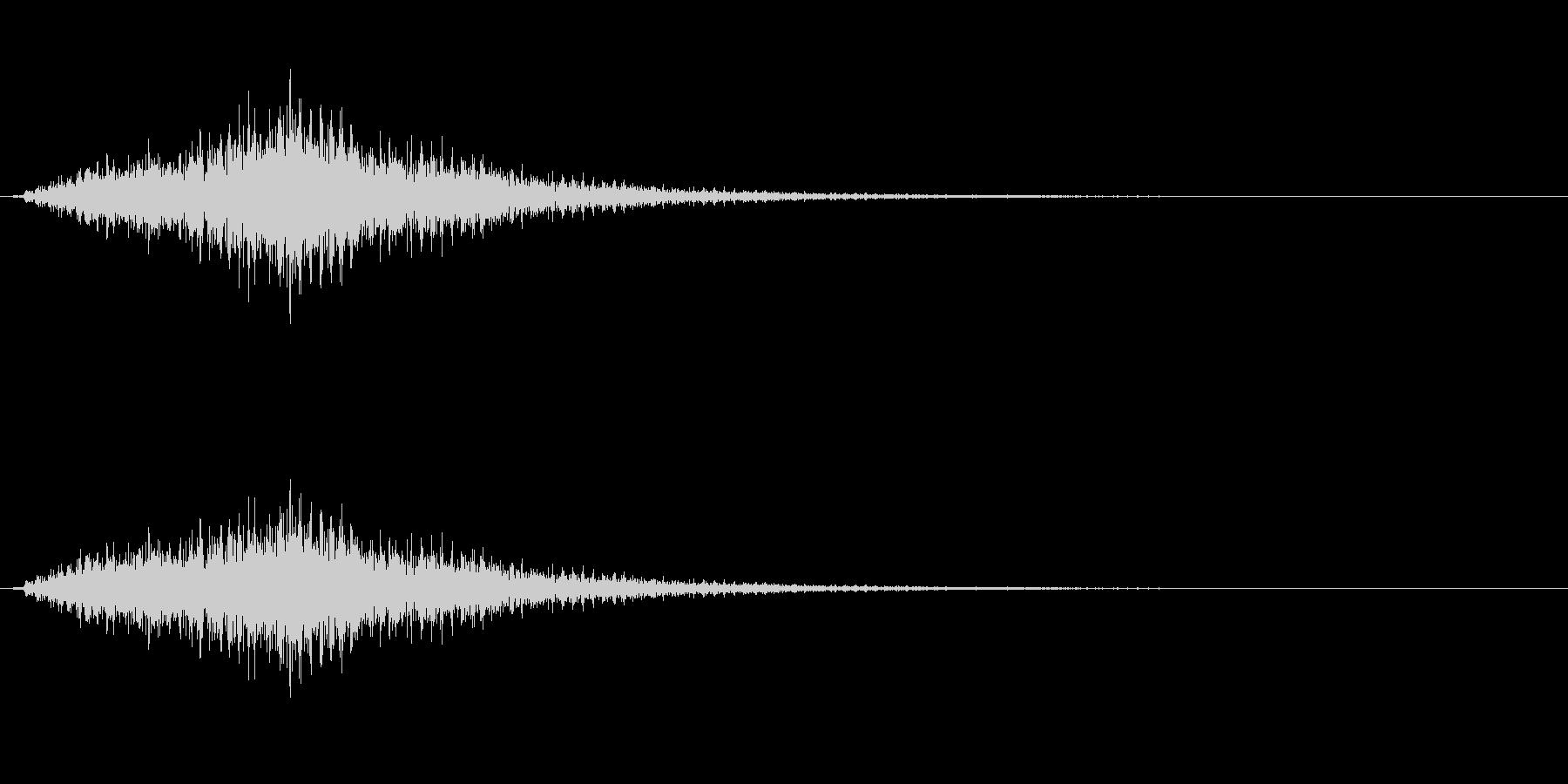 琴でジャラララ~1の未再生の波形