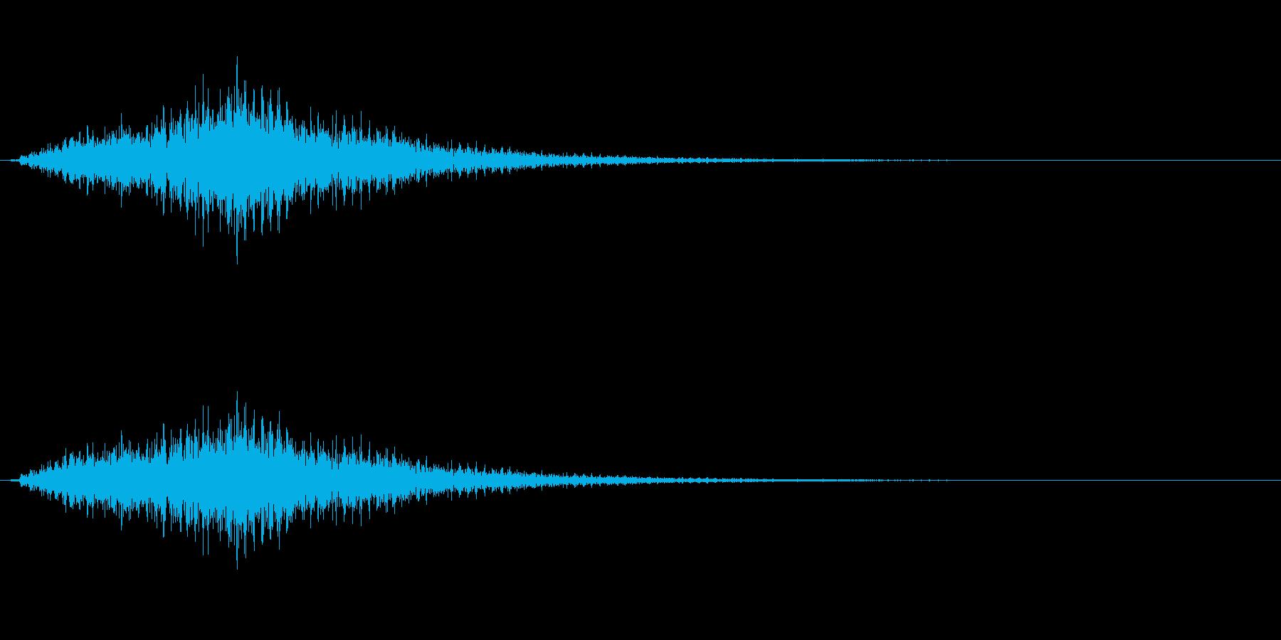 琴でジャラララ~1の再生済みの波形