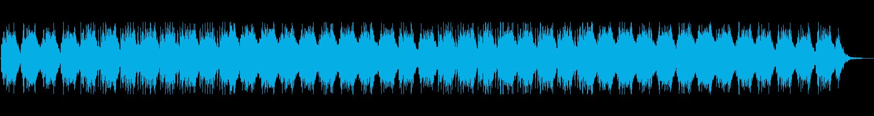 不気味な雰囲気のアンビエントの再生済みの波形