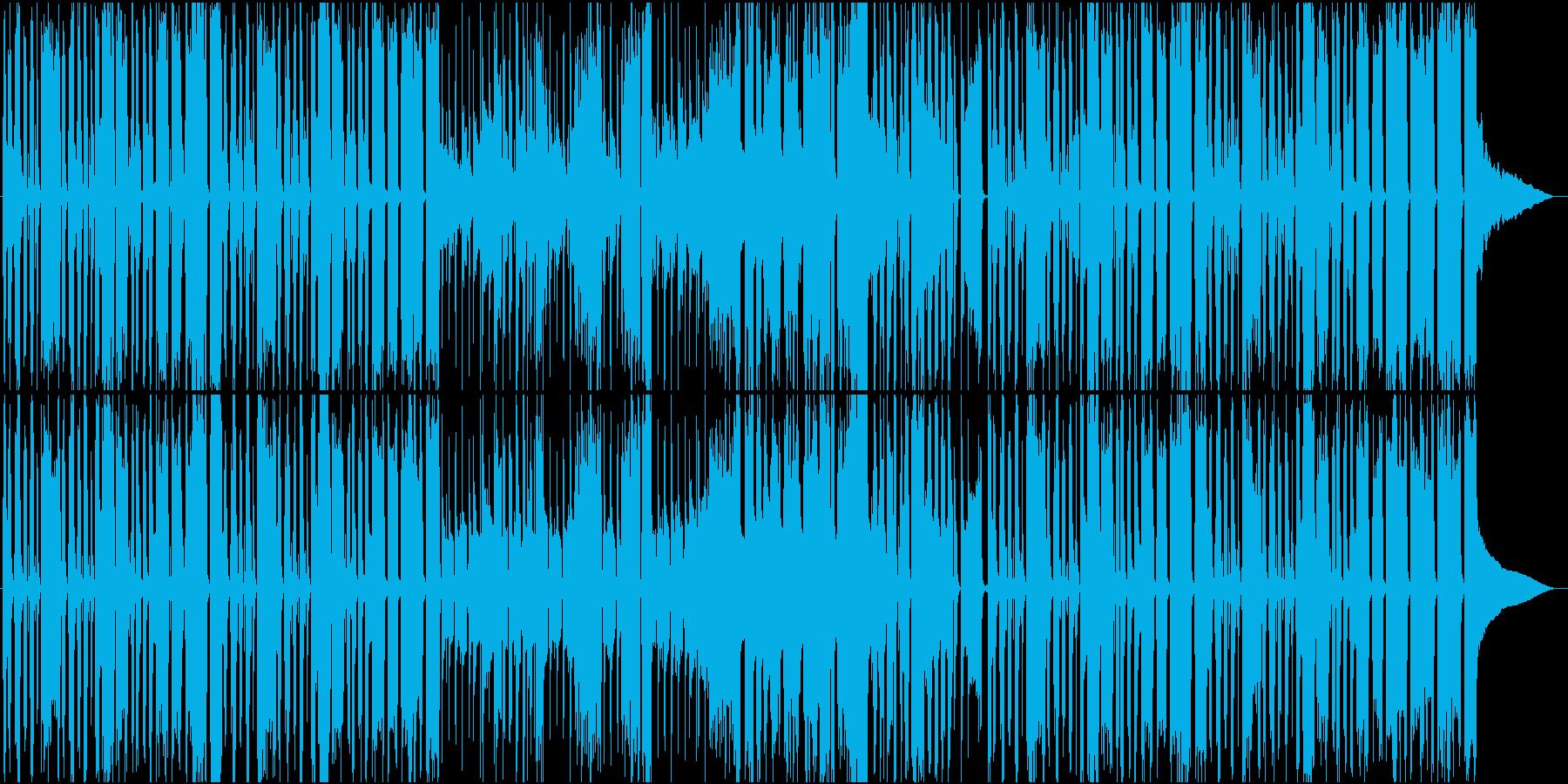 アニメ CM エンディング コミカル の再生済みの波形