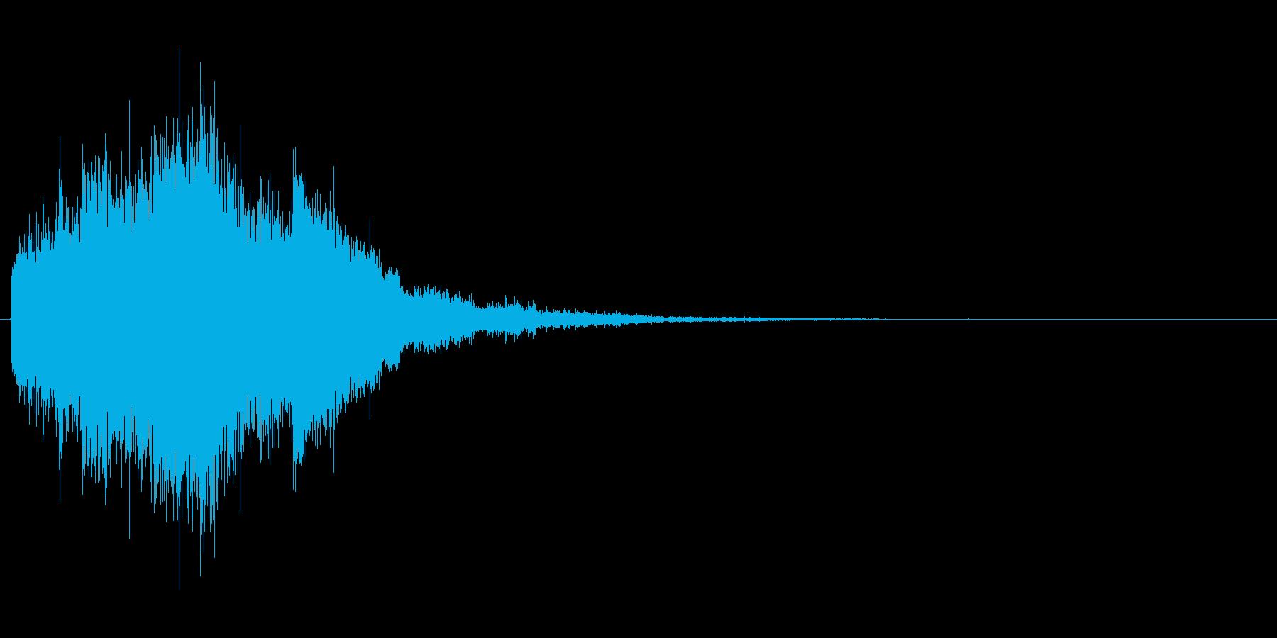 キラキラキラ...(流れ星、場面転換)の再生済みの波形