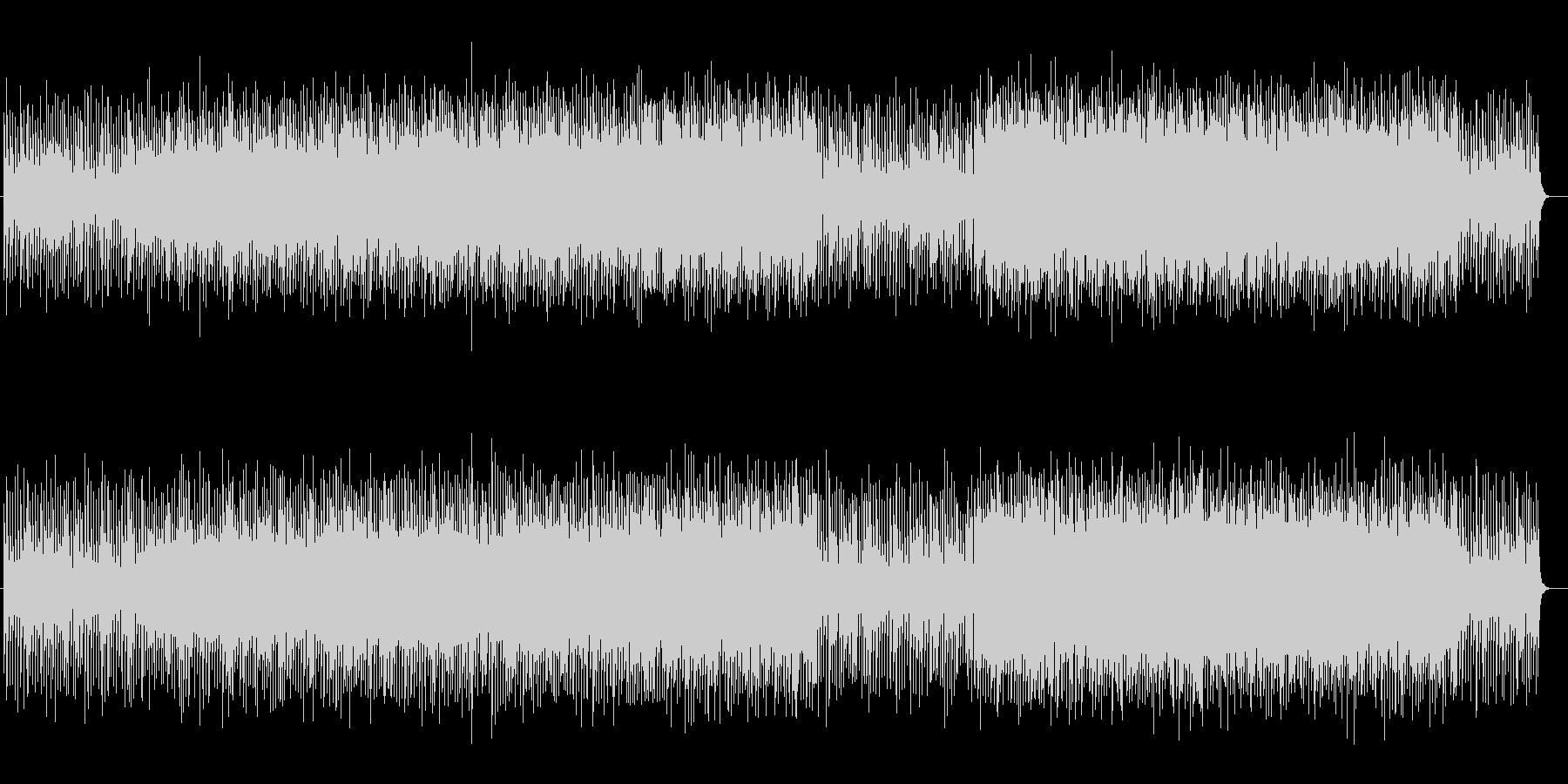 躍動的なシンセサイザーポップの未再生の波形