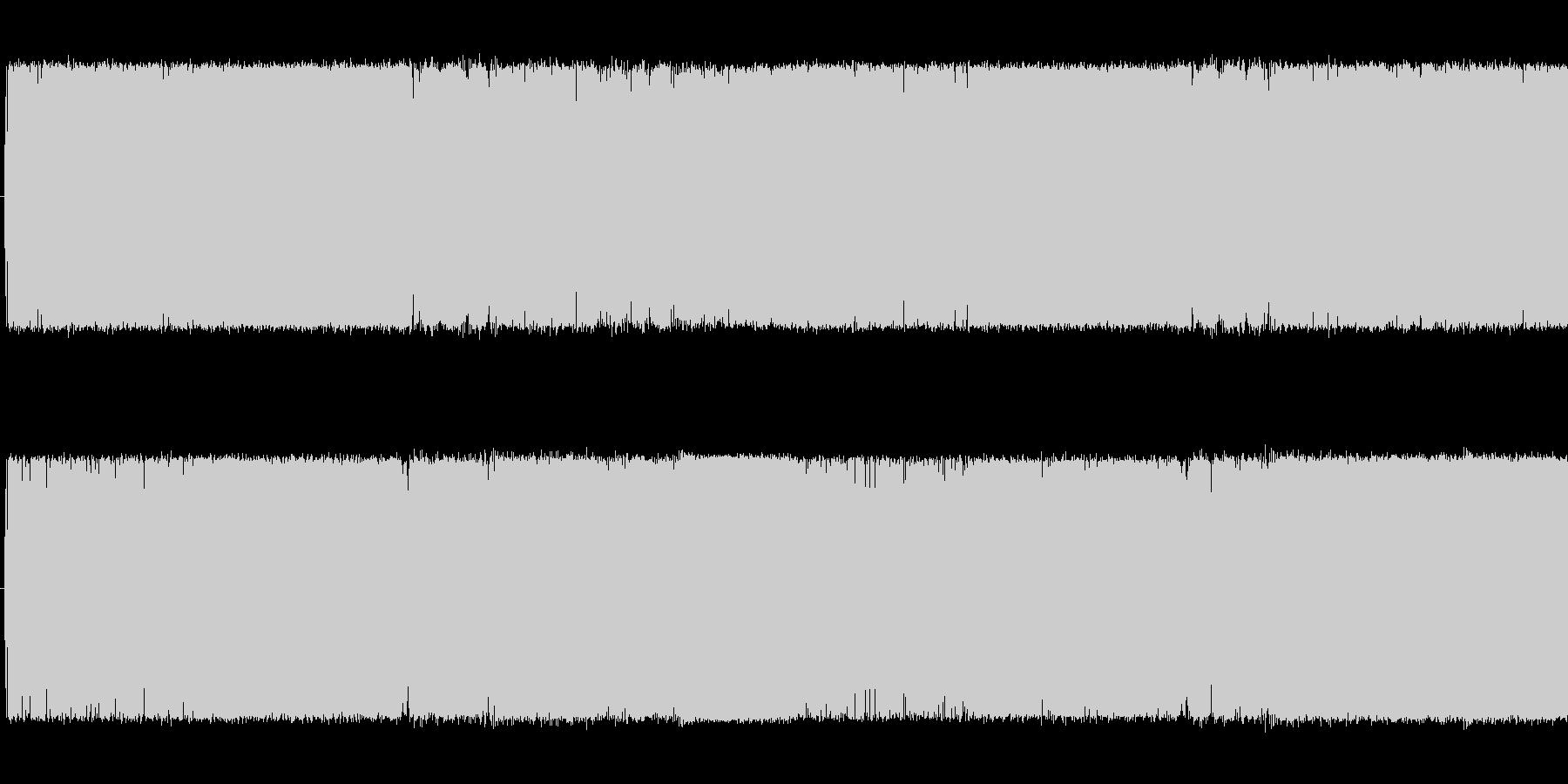 ループ可の歪みギターメタル中ボス系の曲の未再生の波形