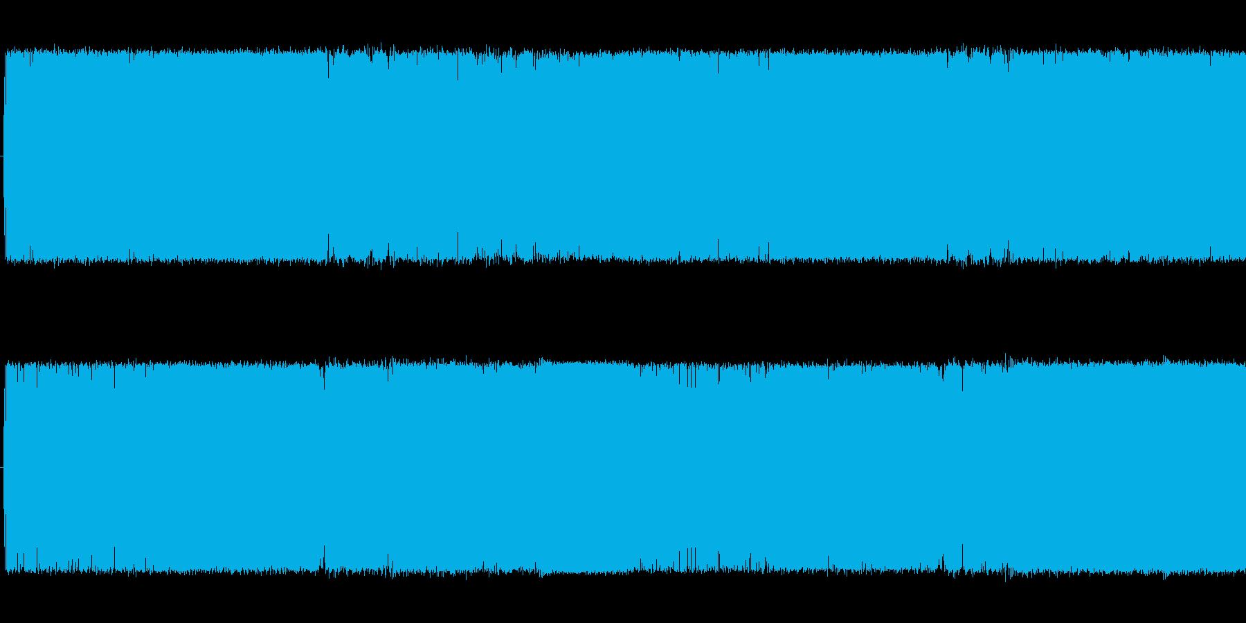ループ可の歪みギターメタル中ボス系の曲の再生済みの波形