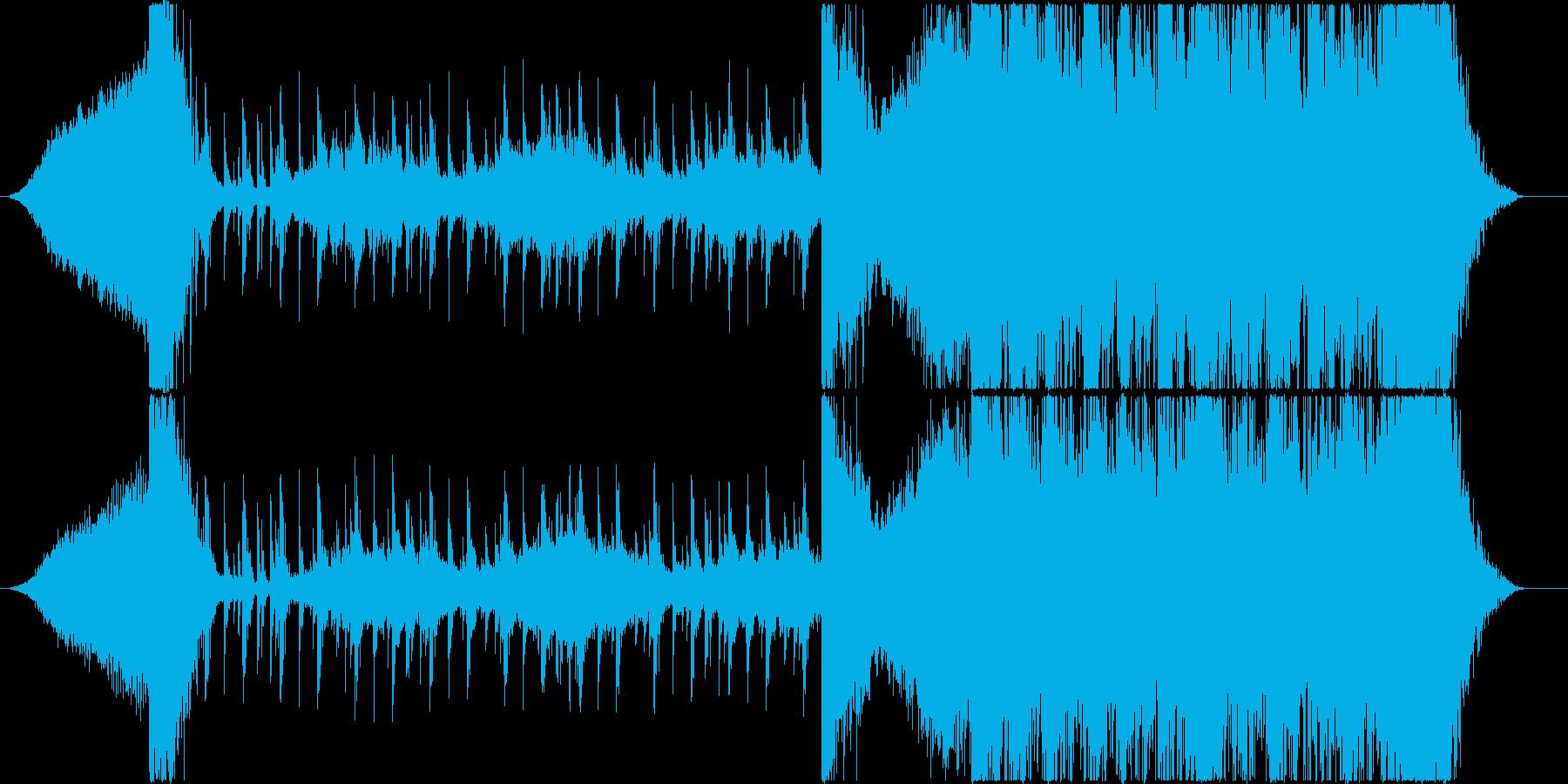 トレーラー/スリル・緊張感の再生済みの波形