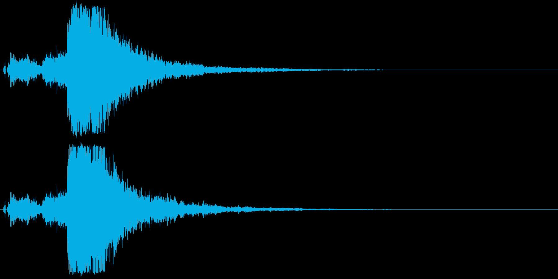 シャキーン!ド派手なインパクトに最適21の再生済みの波形
