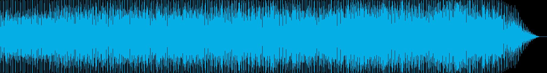 定番のデトロイト・テクノの再生済みの波形