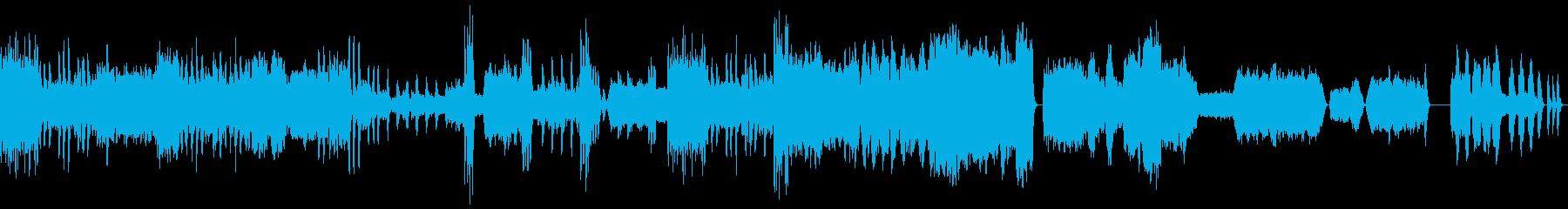 スメタナ「わが生涯より」第4楽章の再生済みの波形