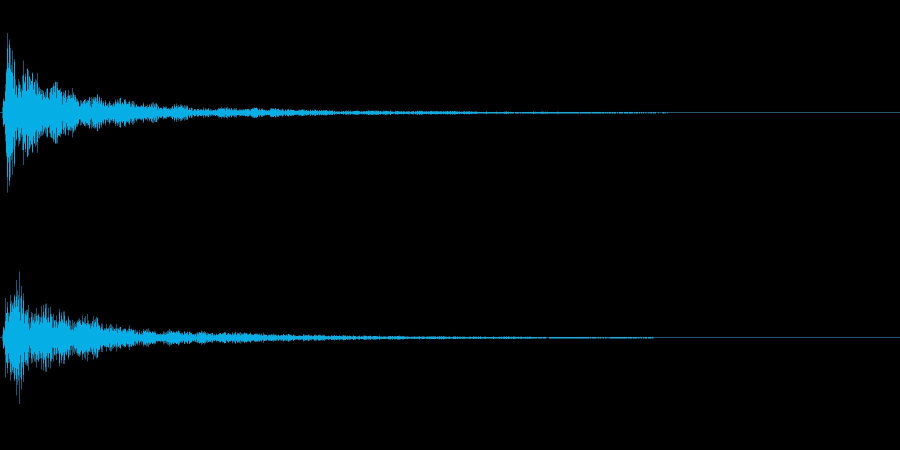 明るい和音~テロップ表示音~の再生済みの波形