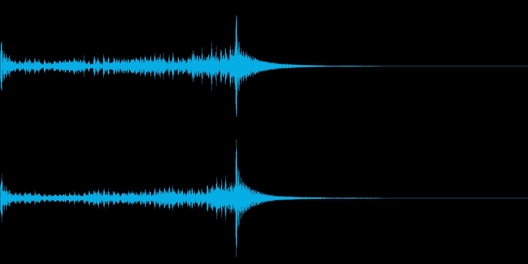 ティンパニーロール☆ミドル3の再生済みの波形