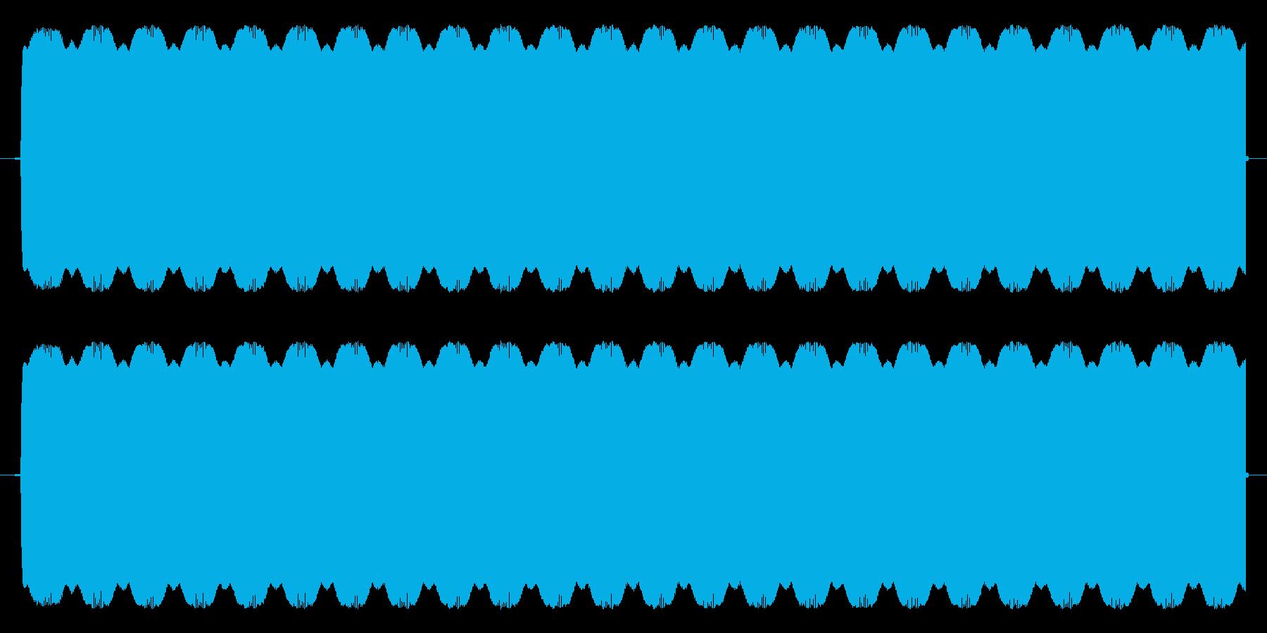 ほにゃららSE(ピー音代用)の再生済みの波形