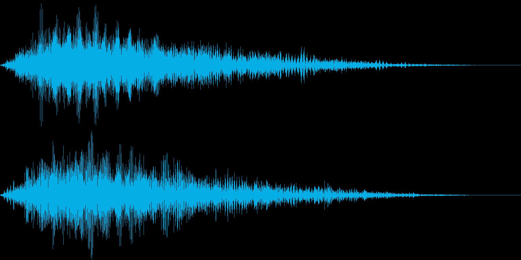 WaOhooo!! ワァオ 電子音の再生済みの波形