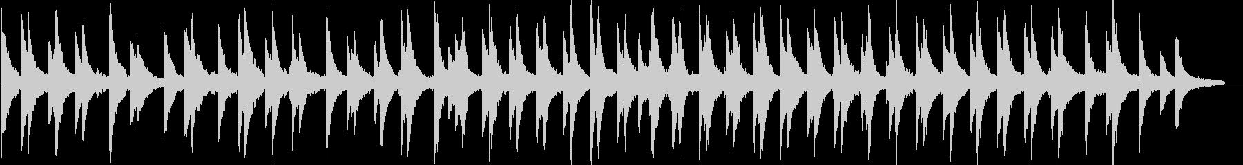 感動的・静けさ・ピアノ・映像・イベント用の未再生の波形