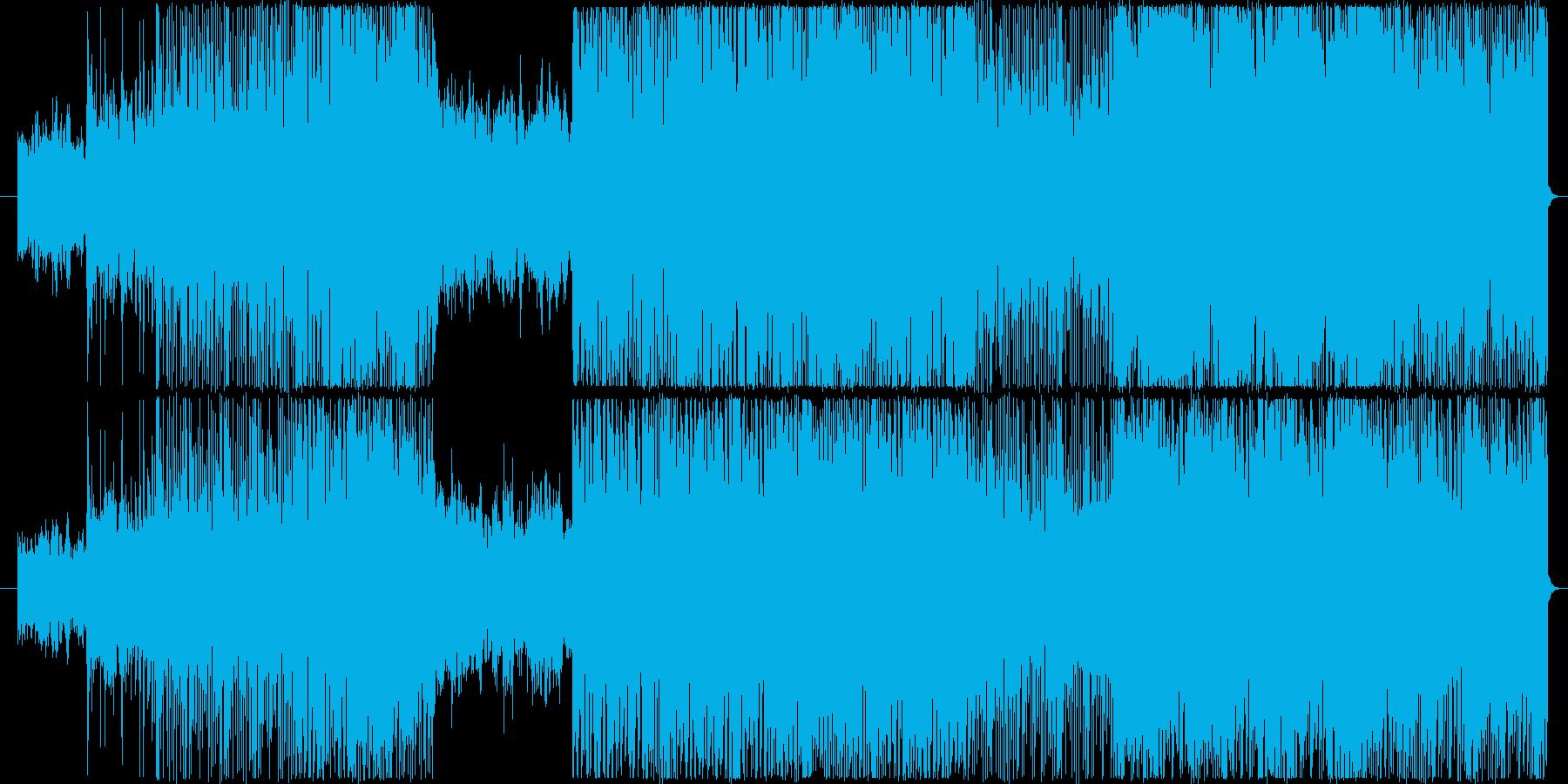 金属楽器の打楽器を使用し作成しました。の再生済みの波形
