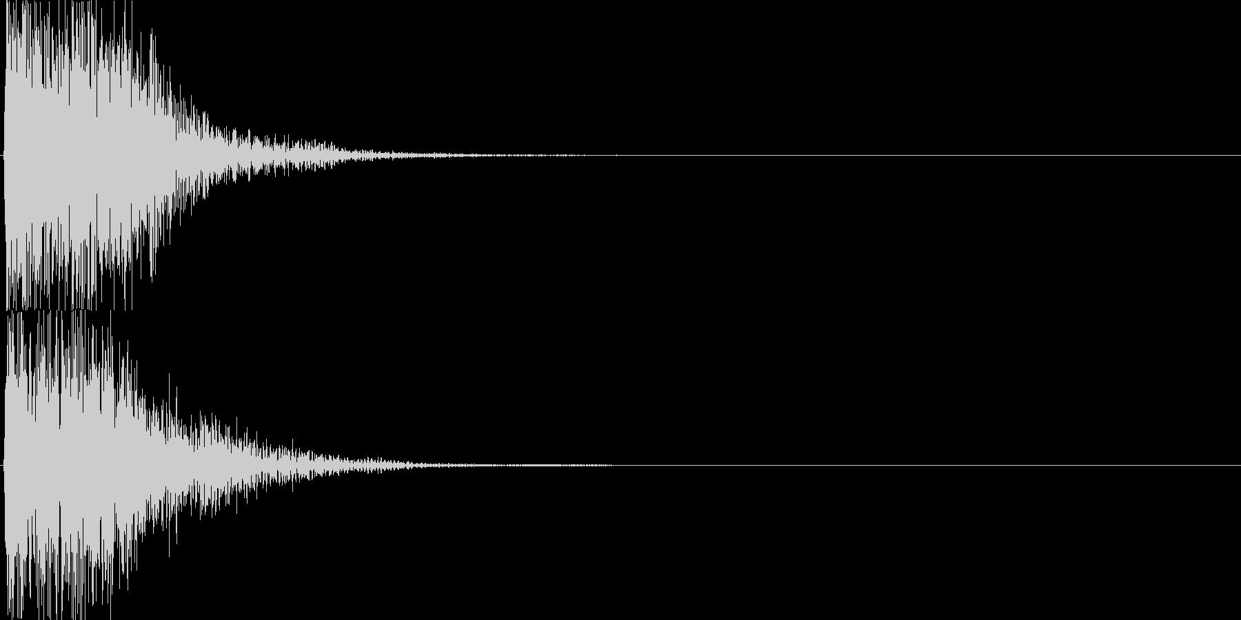 ピコ(ゲーム、アプリなどの操作音06)の未再生の波形