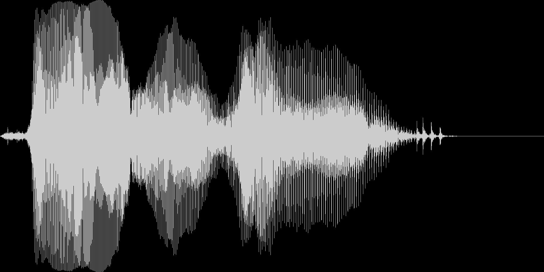 ネイティブ 「ファイナルラウンド」の未再生の波形