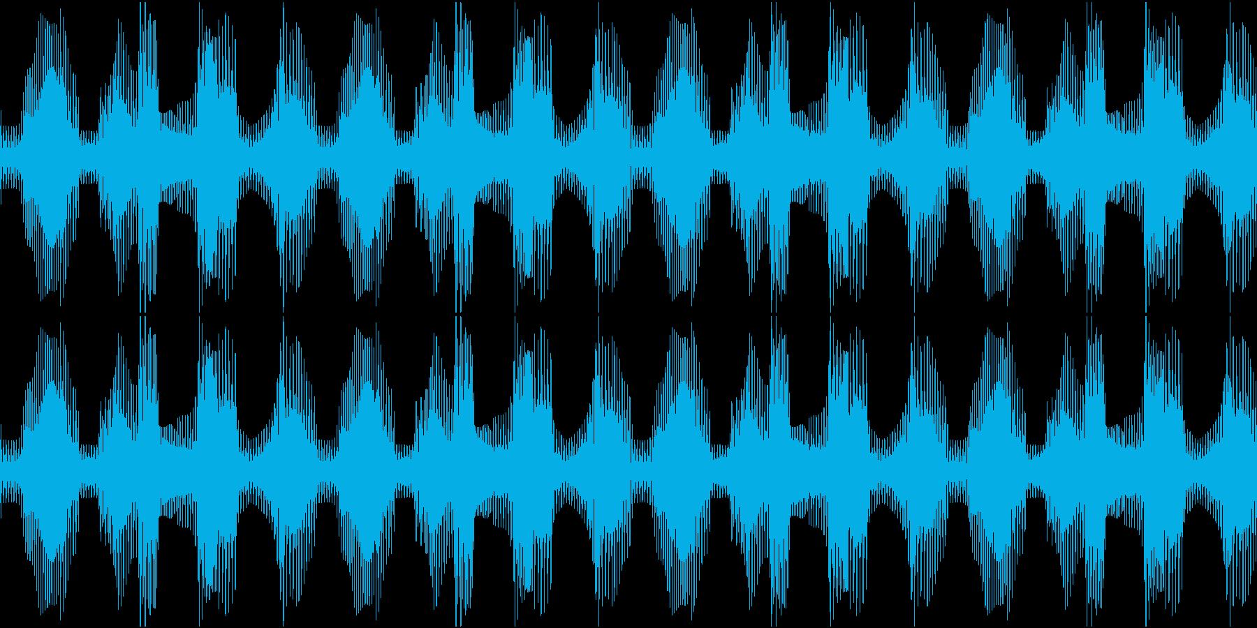 Techno ベース 1 音楽制作用の再生済みの波形