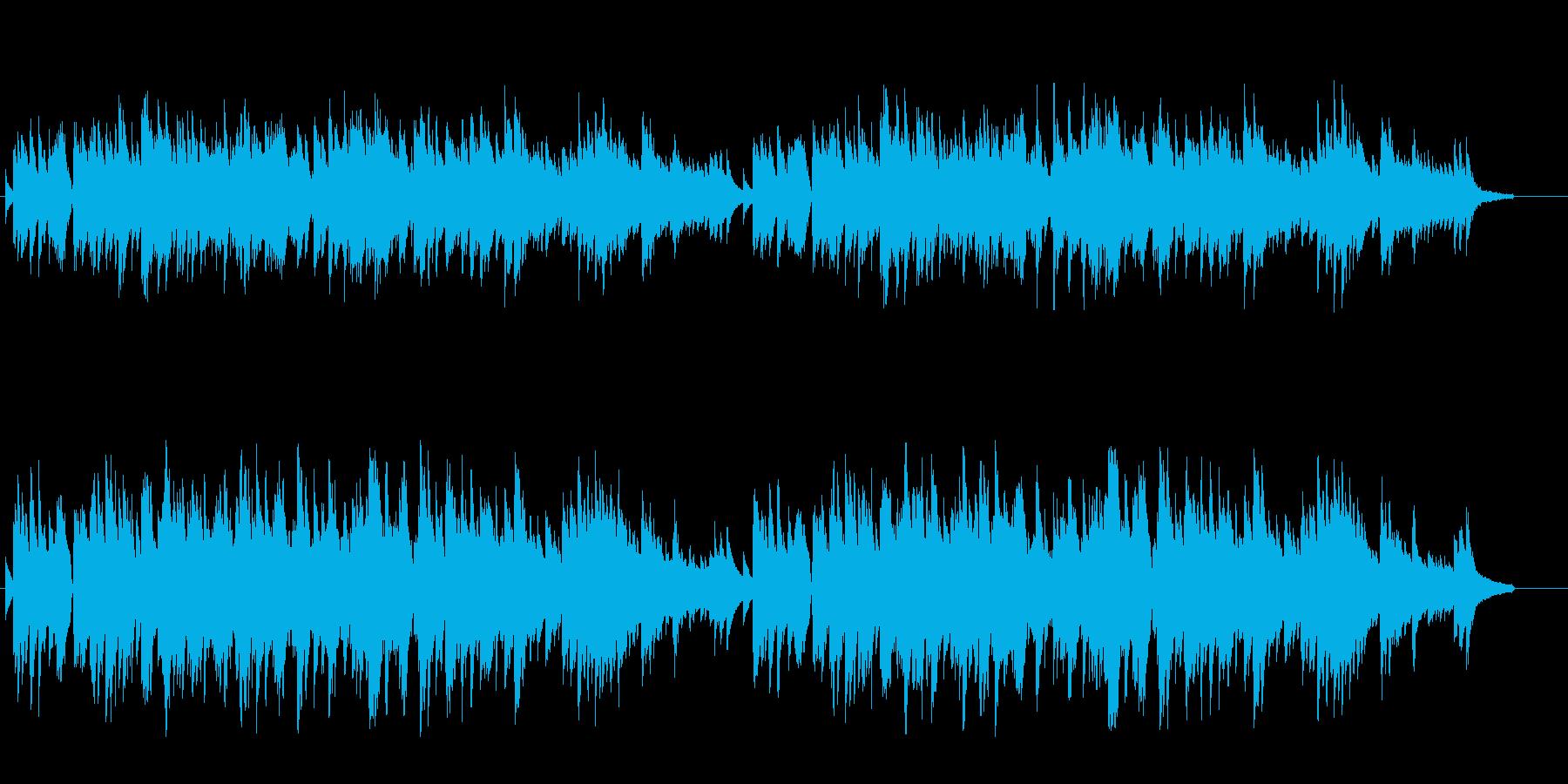 ピアノソロ ロマンチック ムード 切ないの再生済みの波形