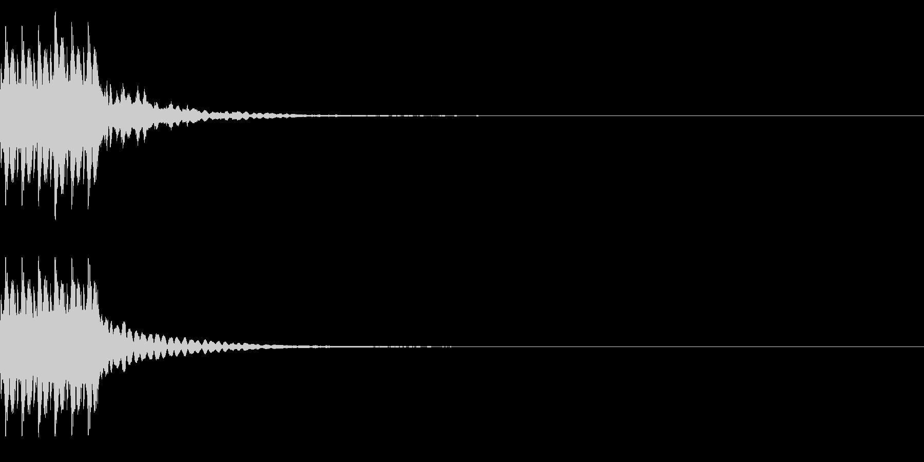 コイン6枚獲得 ゲット チャリンの未再生の波形