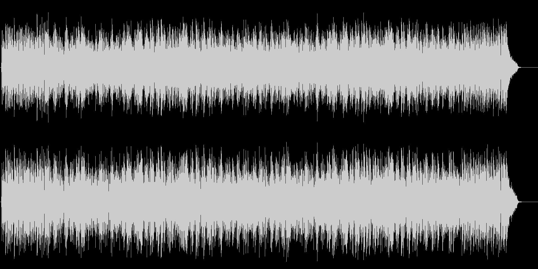 柔軟でムーディなボサノバ・ミュージックの未再生の波形