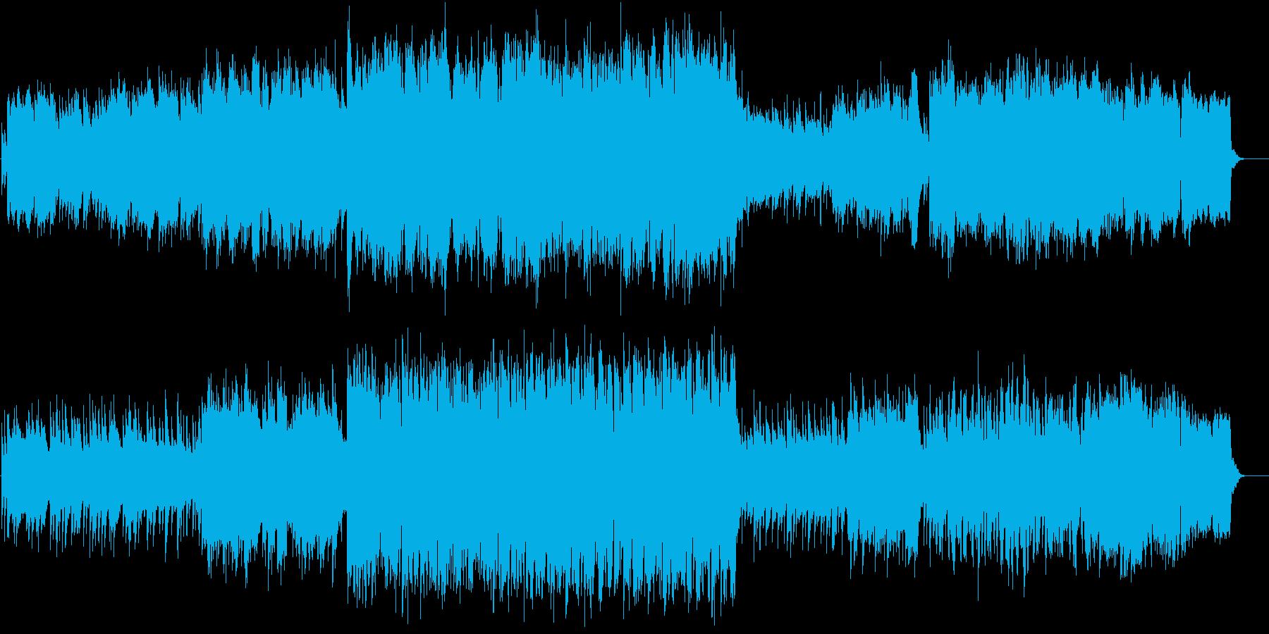 ちょっと切ないピアノと弦楽五重奏の再生済みの波形