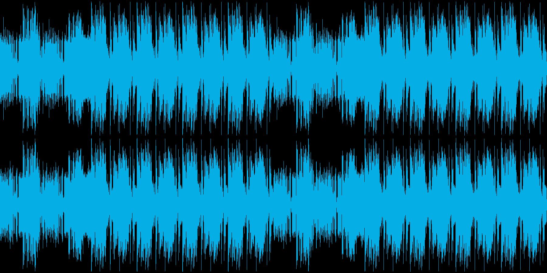 【ラウンジ/JAZZギター/TRAP】の再生済みの波形