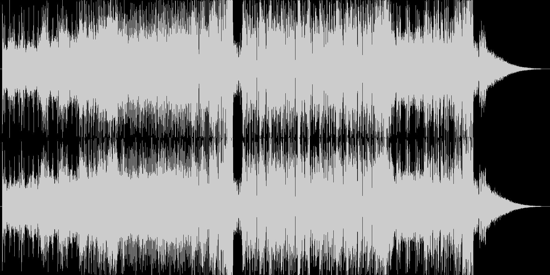 イケイケのベースハウス EDMの未再生の波形