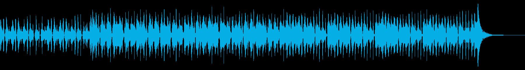 口笛とギターソロが印象的なハワイアンの再生済みの波形