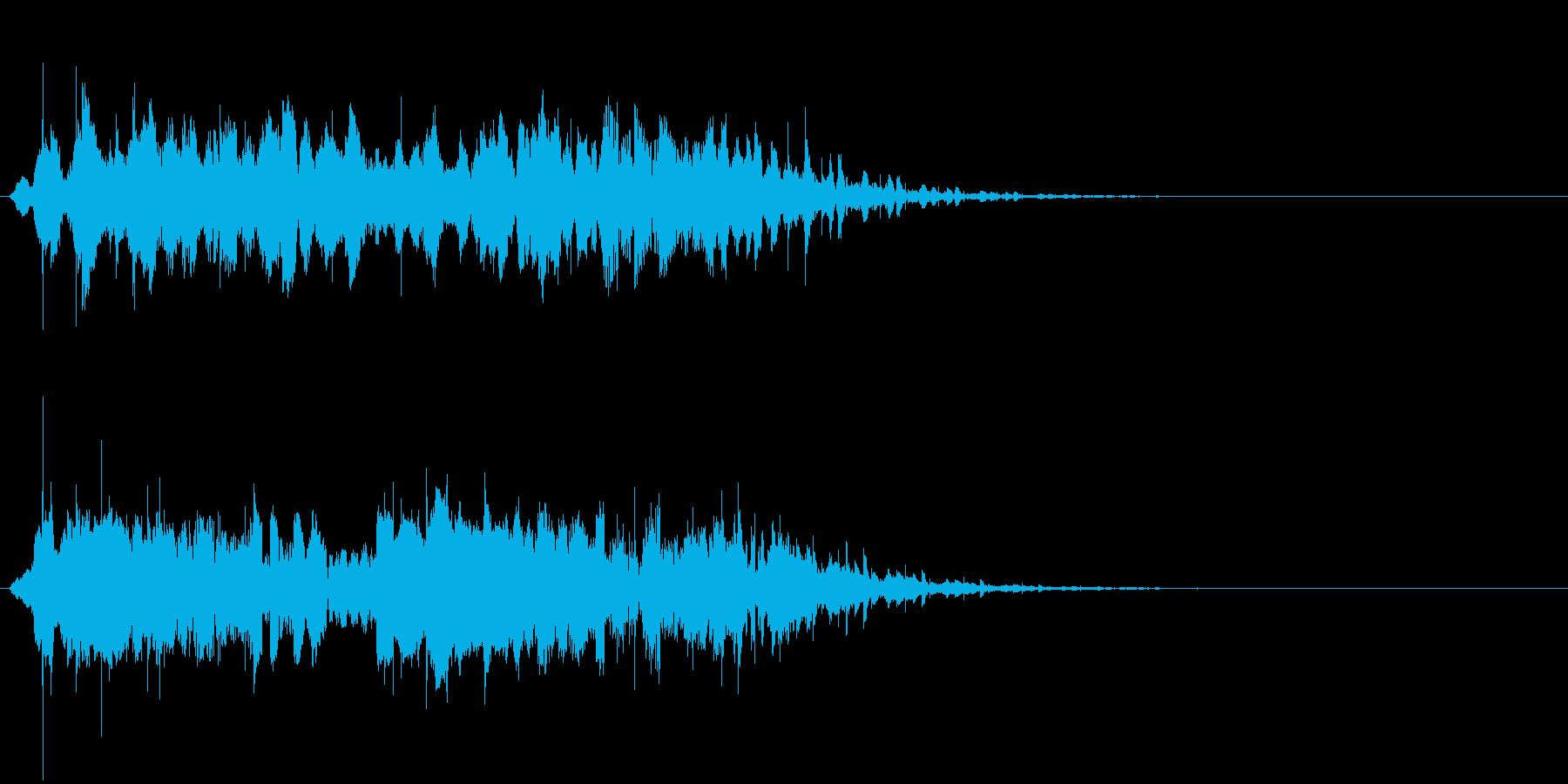 宇宙的 不思議(ジングル)の再生済みの波形