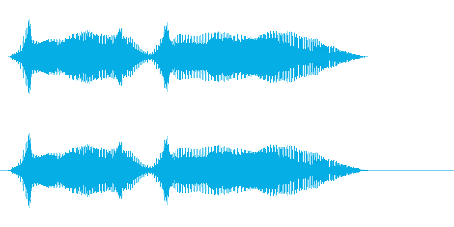 イェイイェーイ! の再生済みの波形