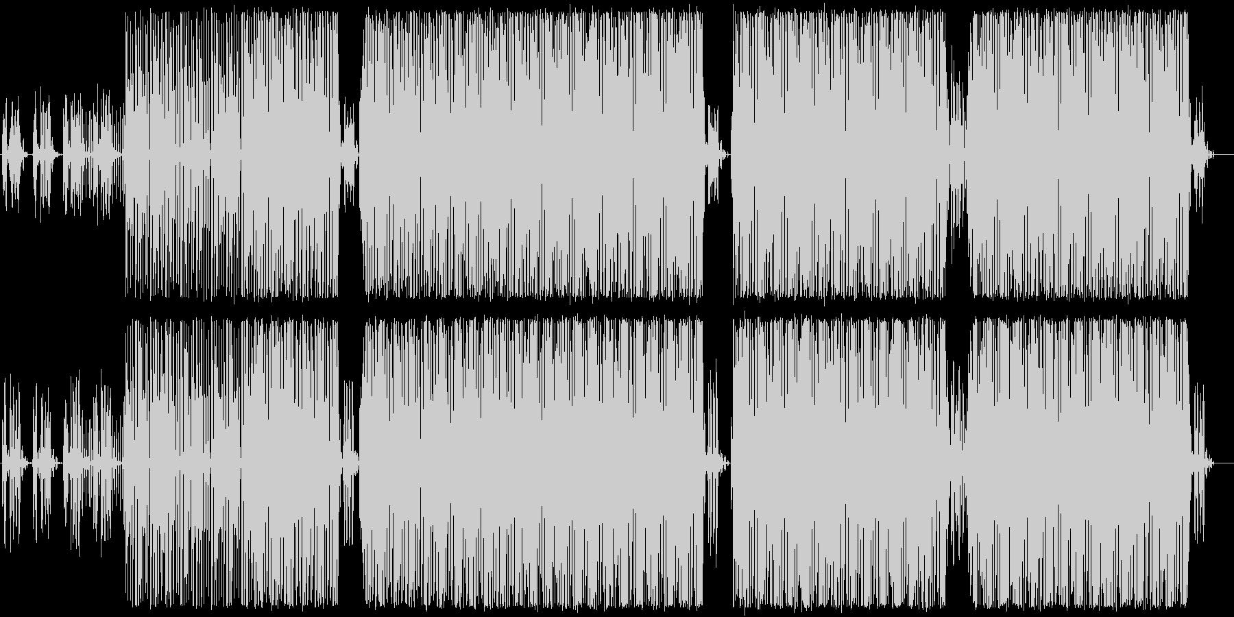 テクノ系インスト曲ですの未再生の波形