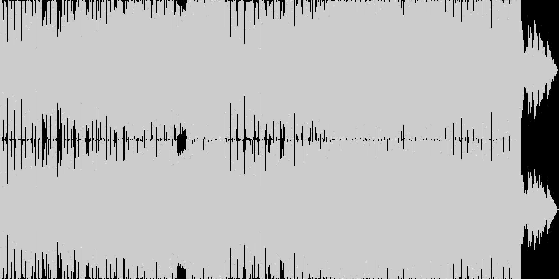情熱のDnBの未再生の波形