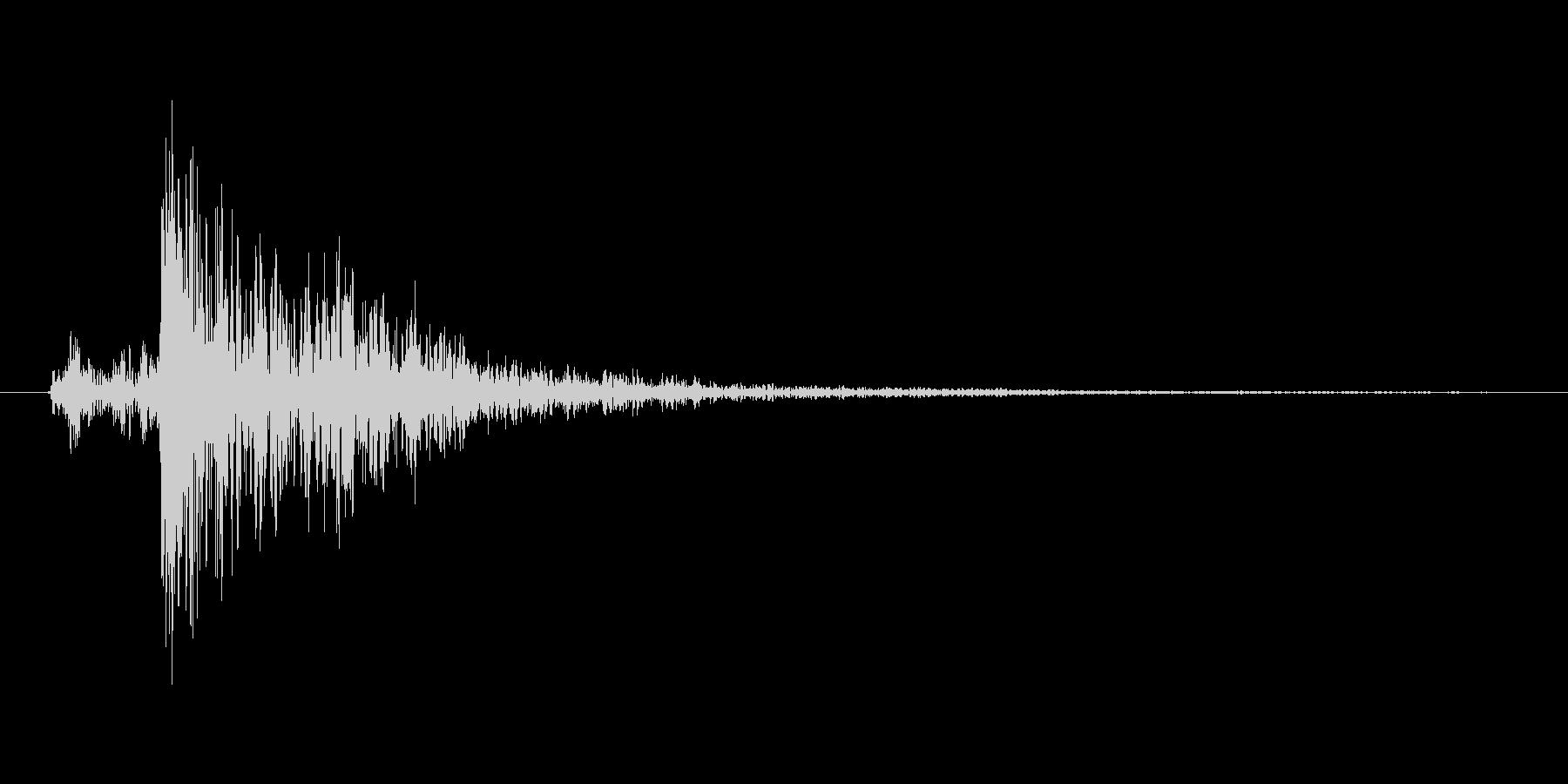 ガタン(レバー、 スイッチ、切り替え)の未再生の波形