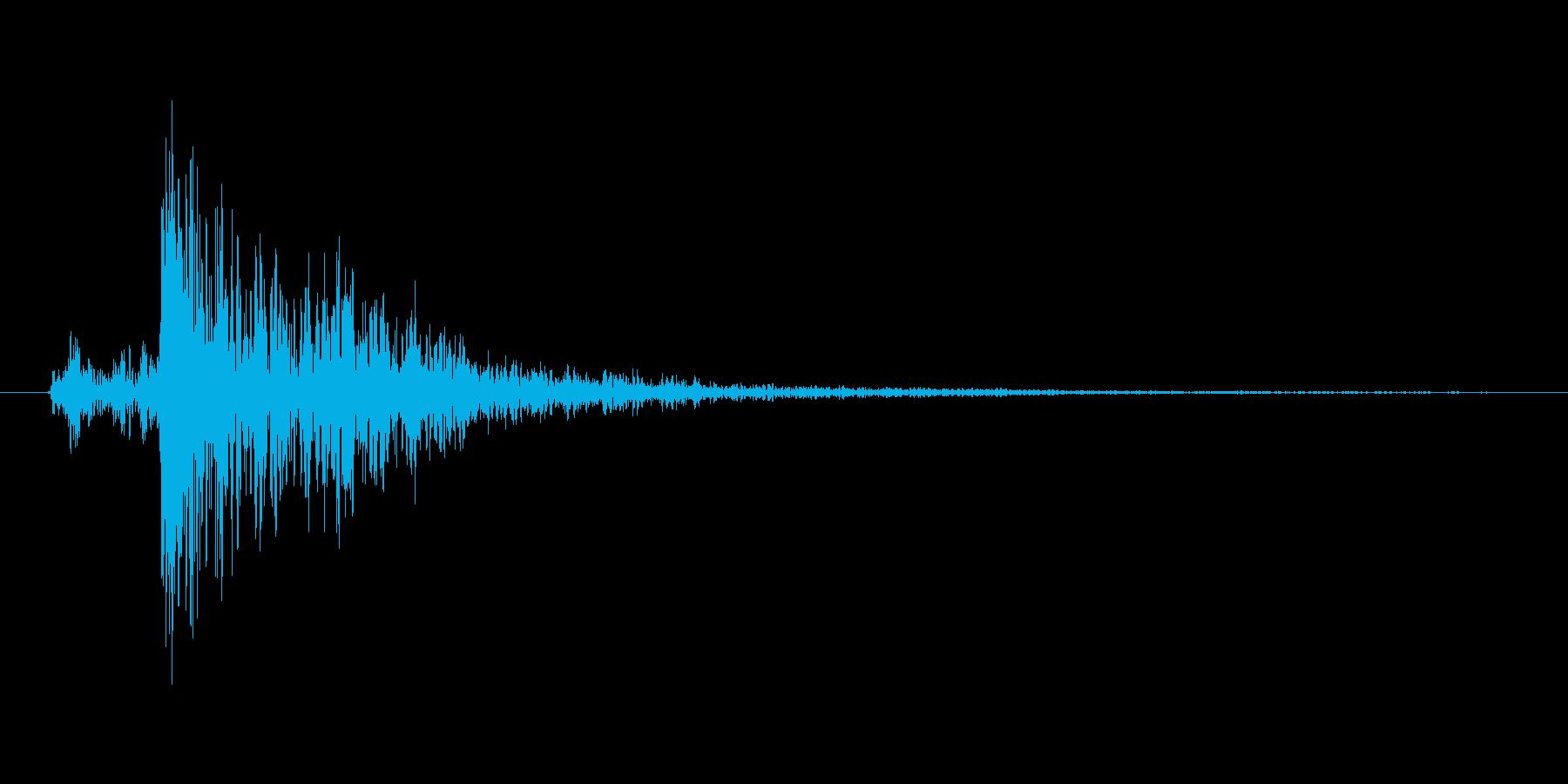 ガタン(レバー、 スイッチ、切り替え)の再生済みの波形
