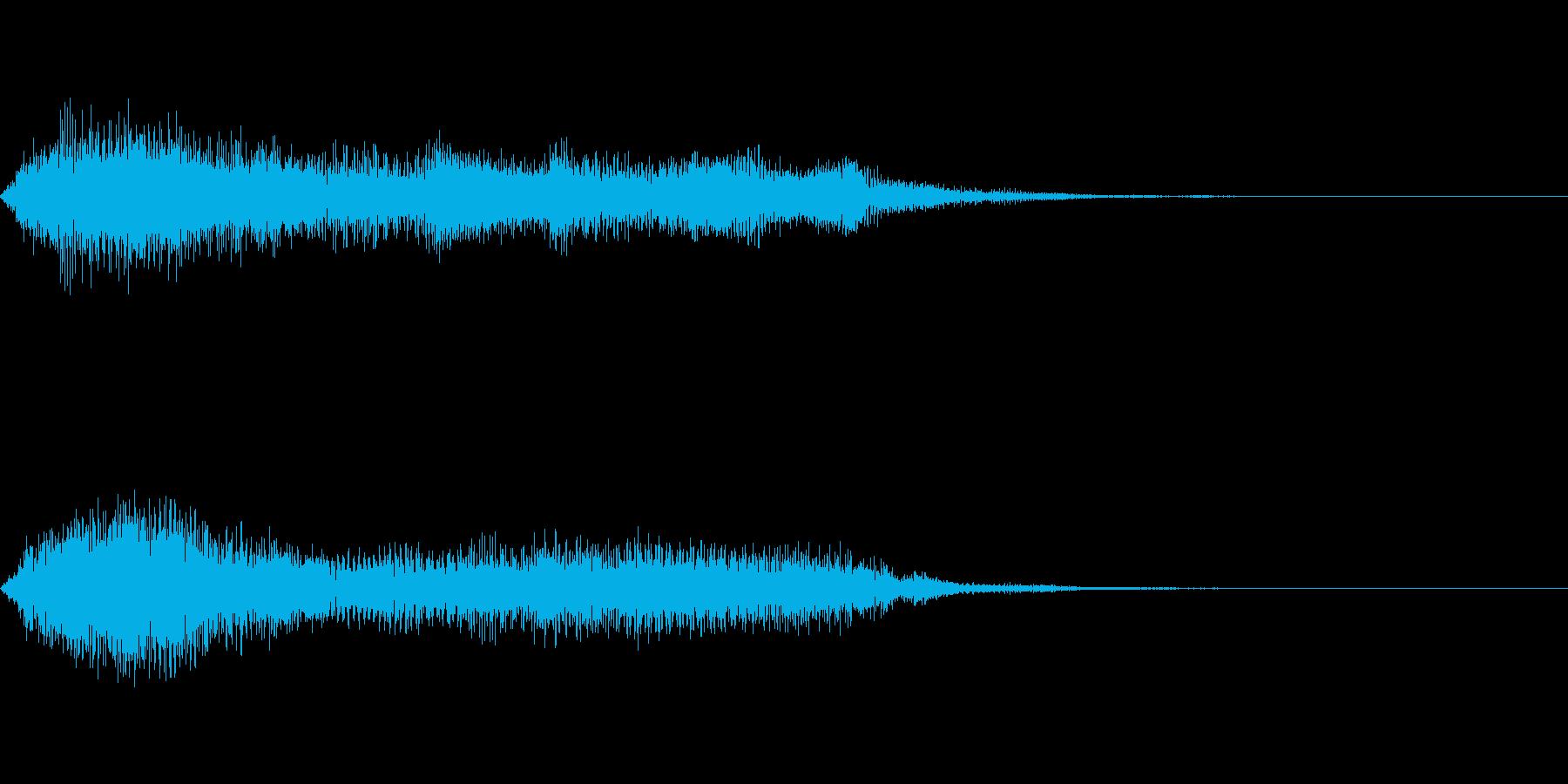 敗北ゲームオーバージングル オーケストラの再生済みの波形