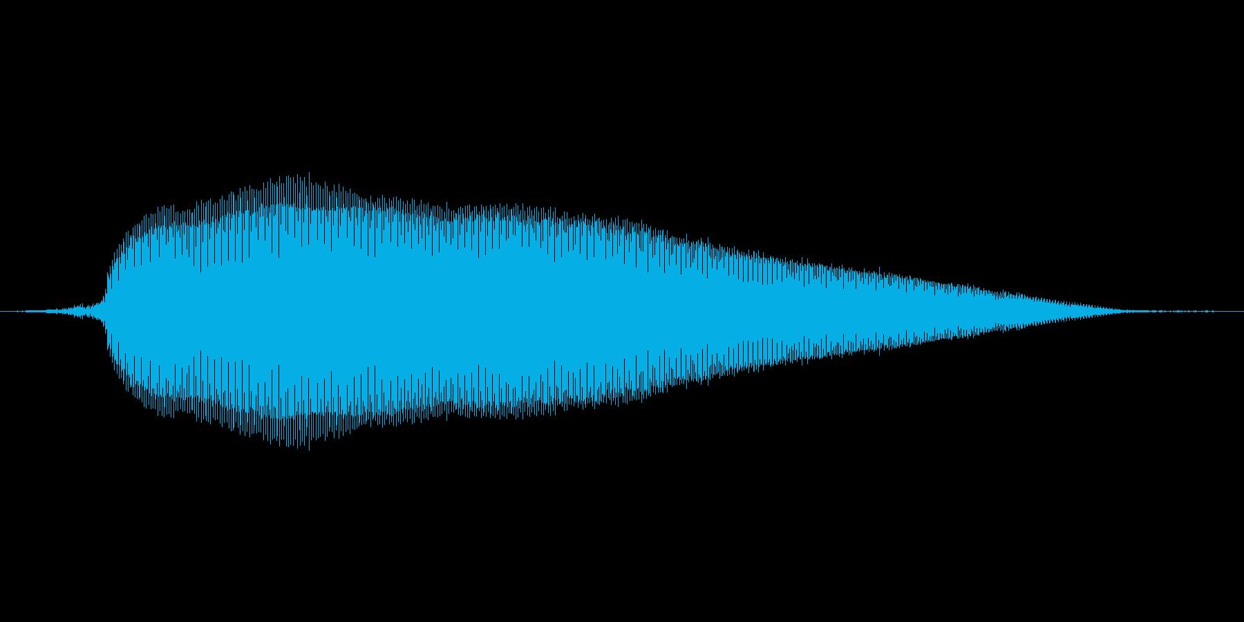ふ~【女性/一息つく】の再生済みの波形