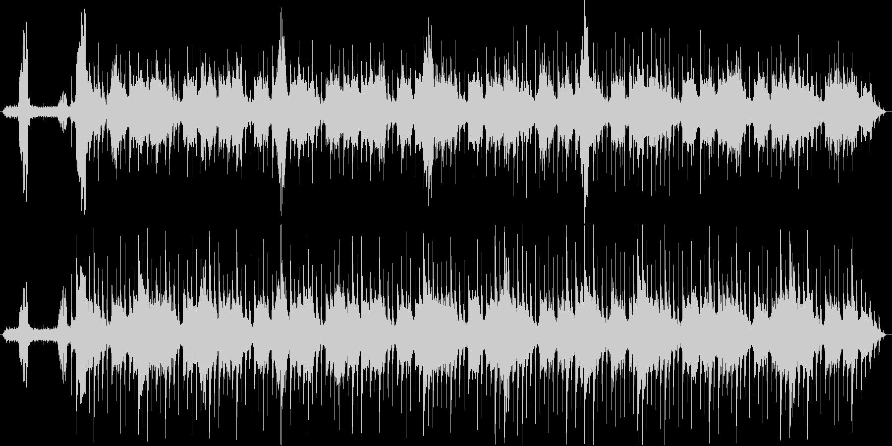 静かで穏やかなヒーリングミュージックの未再生の波形