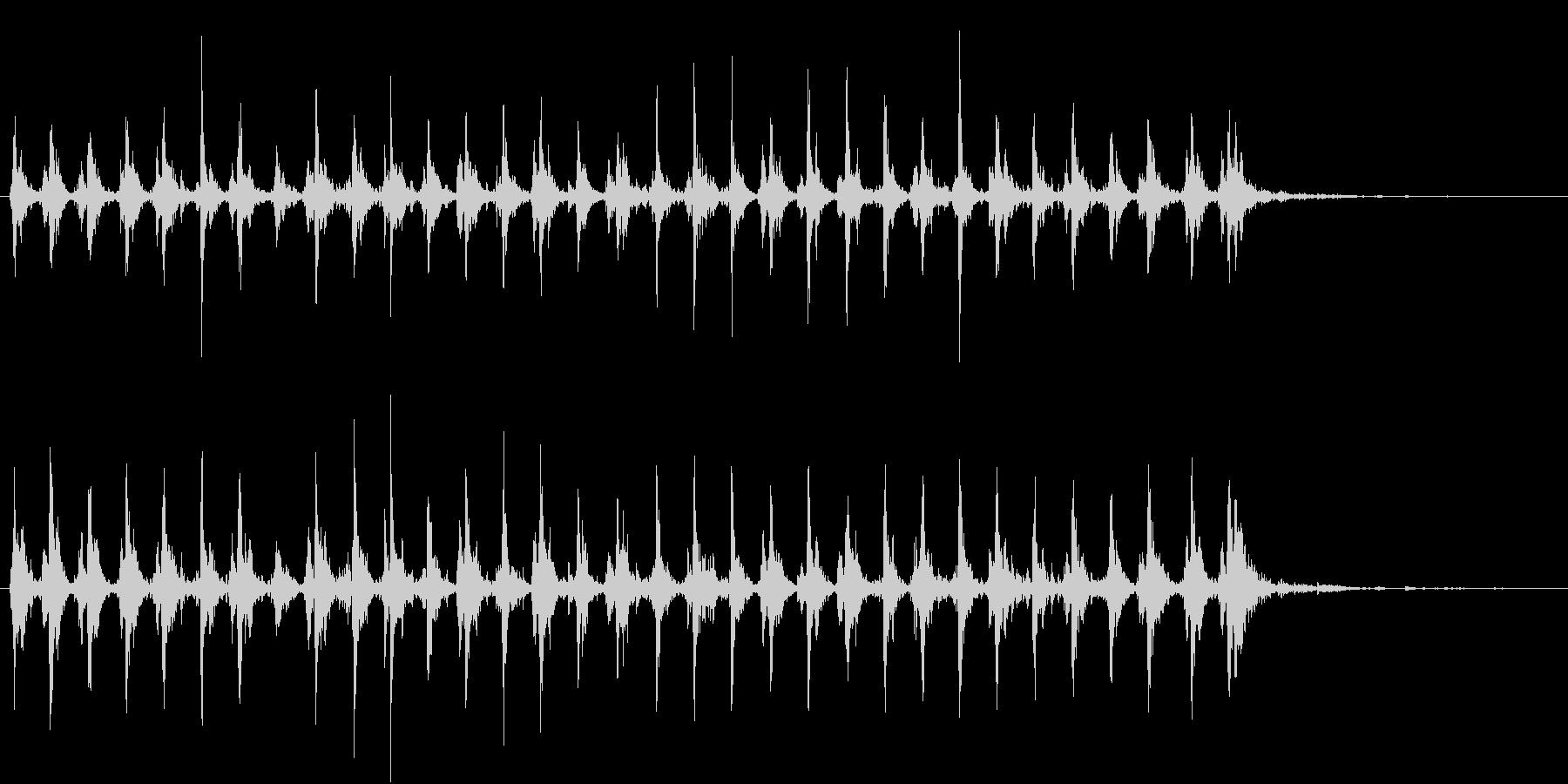 Xmasに最適トナカイベルのループ音08の未再生の波形