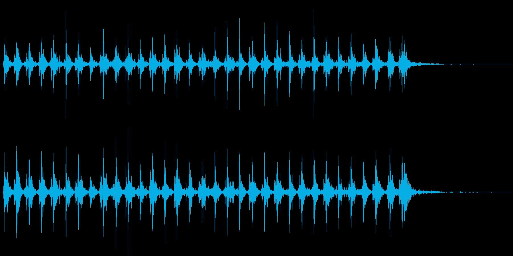 Xmasに最適トナカイベルのループ音08の再生済みの波形