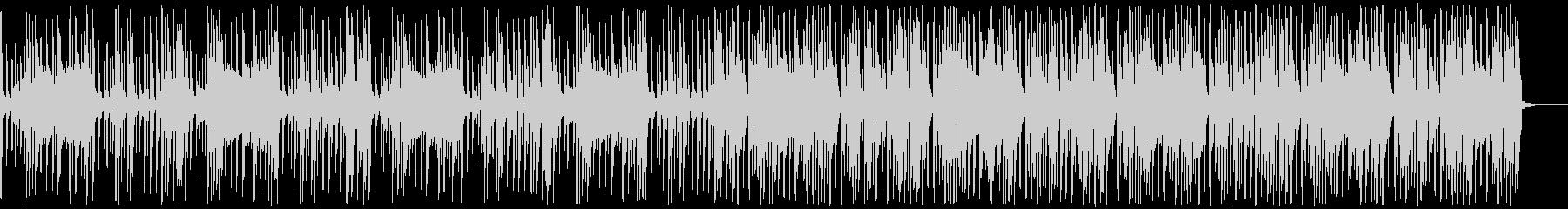 野生の森の中にいるイメージができる曲の未再生の波形
