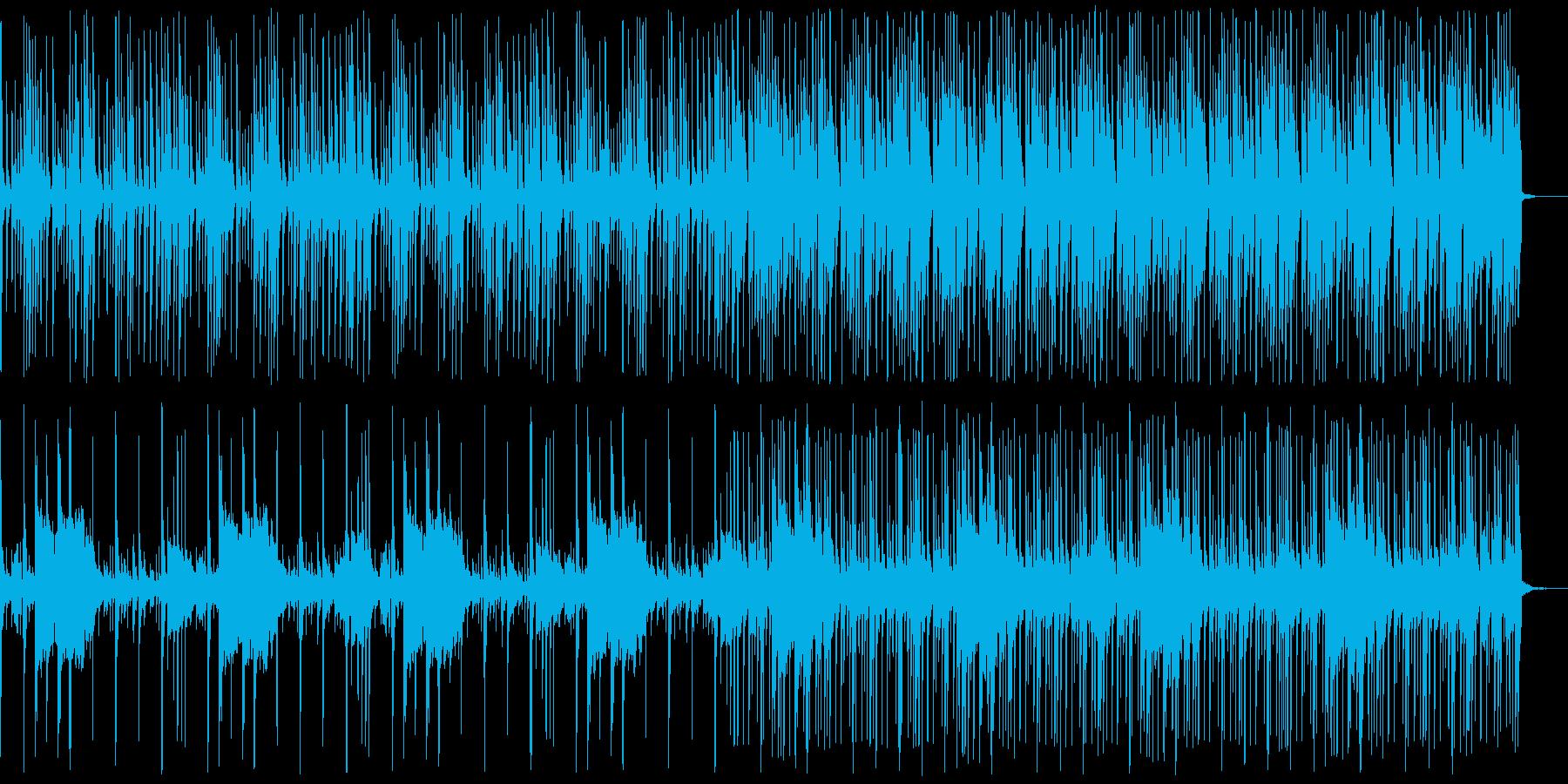 野生の森の中にいるイメージができる曲の再生済みの波形
