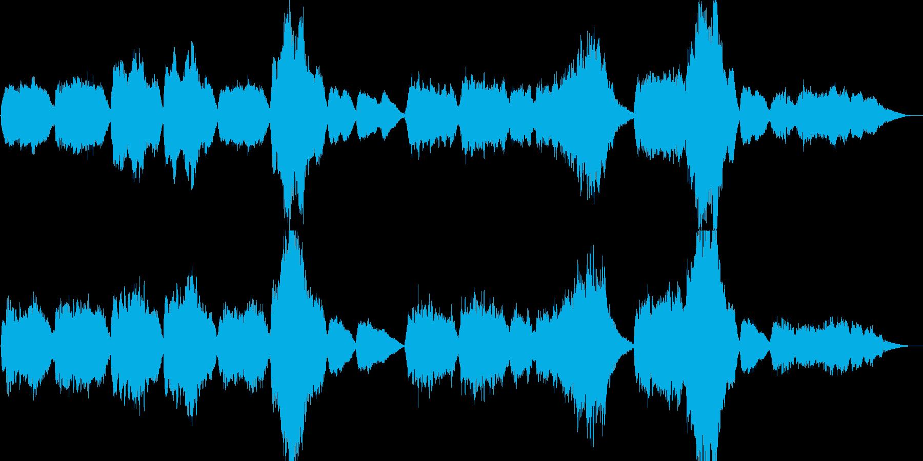 家路・新世界より・クラシックカバー・童謡の再生済みの波形