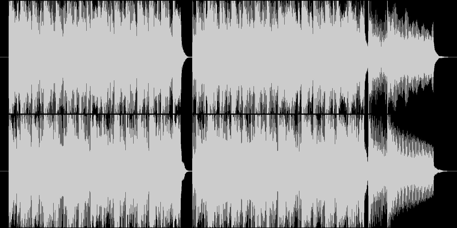 15秒CMの9 元気な子供達の未再生の波形